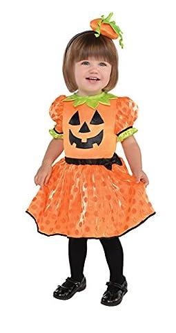 Amscan 845825–55Kostüm Baby Kürbis, 12–24Monate (Familie Halloween-kostüme Mit Baby)
