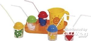 Gowi 454-01 - Juego de vasos de zumo con bandeja y jarra (12 piezas) importado de Alemania
