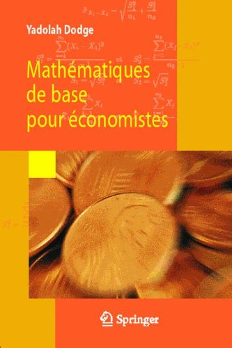 Mathématiques de base pour économistes