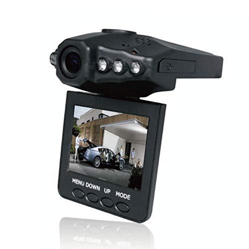 ZXTiL Telecamera per Auto Dash CAM Full HD 1080P, Altamente sensibile G-Sensor, Obiettivo Grandangolare, Rilevazione del movimento, Visione Notturna
