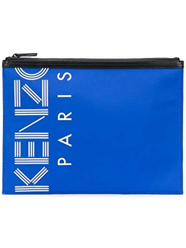 Kenzo Pochette Uomo F855pm202f2474 Poliammide Blu