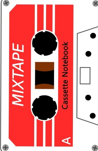 Cassette Notebook: Lined A5 Notebook - Cream Paper, A5 Size (5.5 x 8.5 inches), 100 pages (50 sheets)