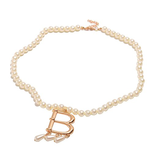 yn Halskette Tudor Mode Perle Halskette Anhänger Faux Perle Halskette Tudors Heinrich der Achte Halskette Mittelalterlich Verrücktes Kleid Party Halskette ()