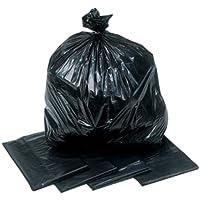 200Heavy Duty nero rifiutare sacchi per immondizia,