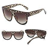 WooCo Große Sonnenbrille und Brillenetui für Herren Damen Eyewear Outdoor Sports Driving Schutzbrille Kunststoffrahmen Unisex(I,One size)