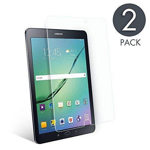 pellicola tablet samsung tab e [2 Pack] Pellicola Protettive per Samsung Galaxy Tab E 9.6 aiMaKE Vetro temperato Pellicola protettiva per Samsung Galaxy Tab e Pellicola (SM-T560 T561)(0
