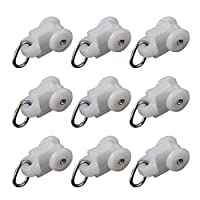 50PCS Curtain Rolle Curtain Rail Accessories Mute Hook Track Pulley Ball Hook Roller