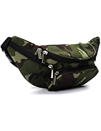 2f2bcb1d3cb Jisen Waist Bag Outdoor Casual Sports Pockets Cycling Hiking Camping  Workout Pouch for Men/Women
