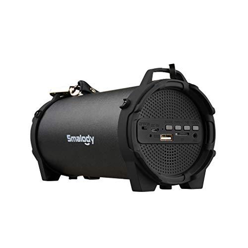 Jamicy  Mini tragbarer Bluetooth Lautsprecher, Drahtloser Bluetooth Lautsprecher, Stereo Bass, AUX FM Radio für den Außenbereich TF HiFi Soundbox
