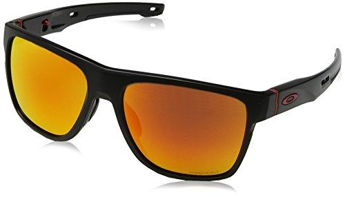 e73c569f52 Oakley Crossrange XL 936012, Occhiali da Sole Uomo, Nero (Negro), 58
