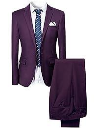 Cloudstyle Traje suit hombre 2 piezas chaqueta chaleco pantalón traje al  estilo occidental bd3dbe8c4be6