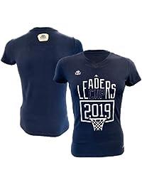 b76a45eb606c Liga Nacional de Baloncesto Oficial - Camiseta de Mujer Azul FR: S (Talla  del