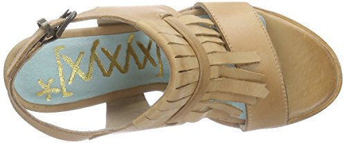Xyxyx Pumps, Sandales ouvertes femme Marron - Braun (lt.tan)