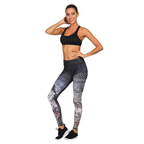 Ears Frauen Elastische Sporthose Pilates Hosen Leisure Sweatpants Slimming Hose Beiläufige Outdoorhose Aladinhose Hohe Taille Training Tights Gym Pants Bequem Laufhose Retro ()