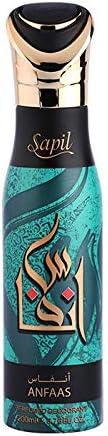 SAPIL Anfaas Unisex - Deodorant, 200Ml