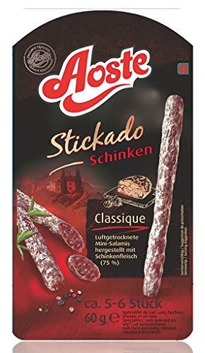 Aoste - Stickado Schinken Snack luftgetrocknet - 60g