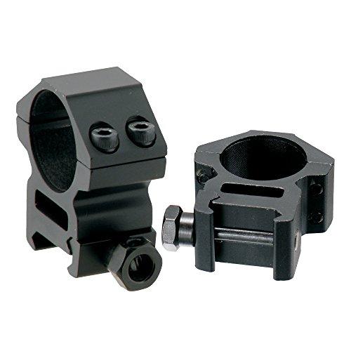 UTG RGWM-25M4 Colliers de Montage pour Optique Mixte Adulte, Noir Mat