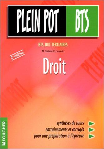 Droit : BTS, DUT tertiaires, 2e édition