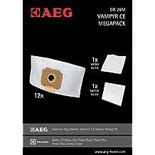 4 Filter geeignet für AEG Vampyr CE Azzurro 20 Staubbeutel Gr.28 usw.