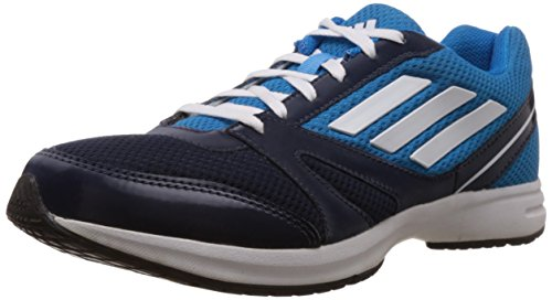 adidas Men's Hachi 1.0 M Blue, White and Solar Blue Nylon Running Shoes - 9 UK