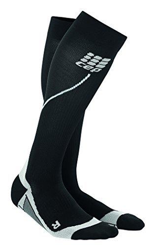 CEP Herren Strumpf Progressive+ Run Socks 2.0, Black/Grey, IV, WP55V33