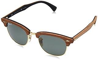 Ray-Ban 0RB3016M 118158 51 Montures de lunettes, Noir (Walnut Rubber Black/Polargreen), Mixte Adulte (B00VJES2MO) | Amazon price tracker / tracking, Amazon price history charts, Amazon price watches, Amazon price drop alerts