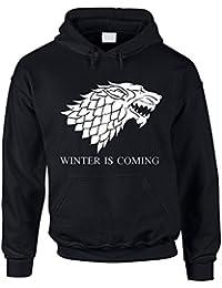 Hoodie Game of Thrones Winter is coming Kapuzenpullover Schattenwolf