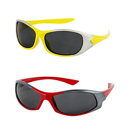 Amour COMBO UV protected sunglasses Pack of 2 for Boys and Girls (27C27A}