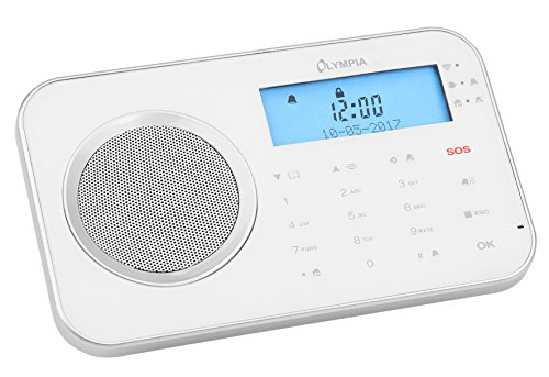 Olympia Funk-Alarmsystem mit WLAN/GSM und Smart Home Funktionen Model ProHome 8700