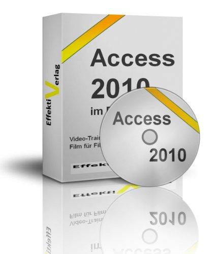 Preisvergleich Produktbild Microsoft Access 2010 im Beruf,  Video-Training in Full-HD auf DVD