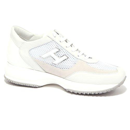 Chaussures De Sport Pour Les Femmes, Blanc, Cuir, 2017, 38 40 Hogan
