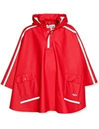 Playshoes Girls Rain Poncho Especially for Satchel Giacca Bambina
