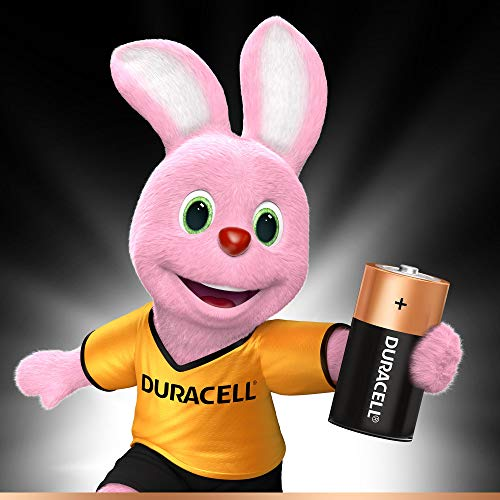 Best duracell power bank in India 2020 Duracell C Alkaline Battery with Duralock Technology (Black and Brown, Pack of 2) Image 2
