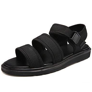 Sandali Unisex Comfort estivo paio di calzature suole di luce PU Casual Black