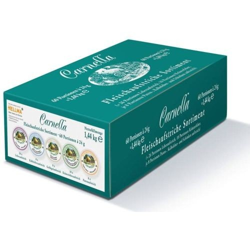 Carnella - Fleischaufstrich Portionen - Mix Sortiment - 60 x 24 g