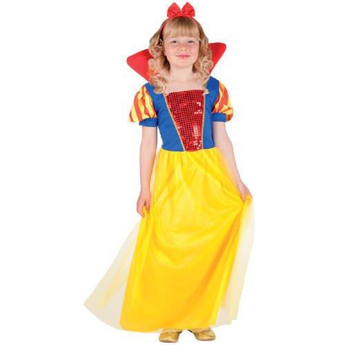 PARTY DISCOUNT Kinder-Kostüm Schlafende Prinzessin, 4-6 -