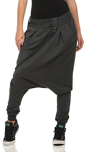 Malito básico Pantalones Bombacho Pantalones Anchos