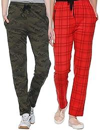 SHAUN Women's Regular Fit Trackpants