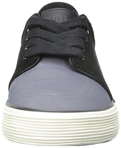 Polo Ralph Lauren Faxon Low Fashion Sneaker Charcoal Grey/Black