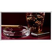 IH Engineering BV Whisky-Zippo-600W+T, Bildheizung Infrarotheizung mit Digitalthermostat Elektroheizung mit Stecker für Steckdose - 5 Jahre Herstellergarantie- Elektroheizung mit Überhitzungsschutz - mitgeliefert wird ein Zertifikat für Sicherheit - Unser