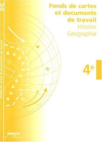Fonds de cartes et documents de travail - Histoire Géographie 4e