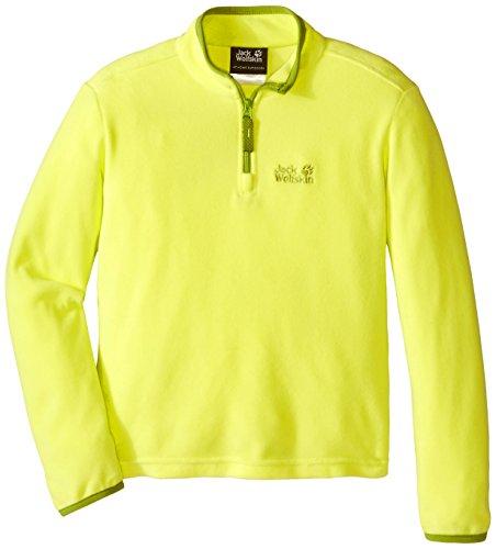 jack-wolfskin-girls-gecko-nanuk-half-zip-warm-fleece-top-yellow