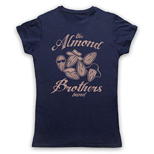 Almond Brothers Band Rock Band Damen T-Shirt Ultramarinblau