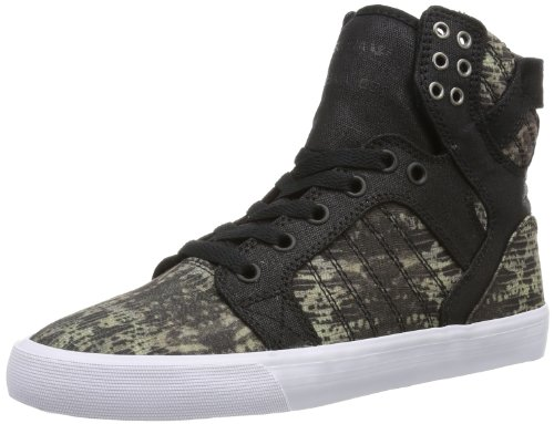 SW18021 Damen Sneaker, Schwarz (Snake/Black - White SKB), EU 38 (UK 6) (US 7) ()