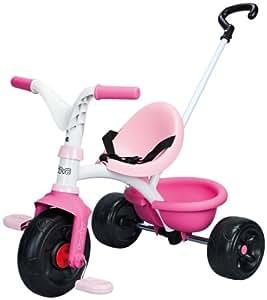 smoby 444173 be move dreirad rosa spielzeug. Black Bedroom Furniture Sets. Home Design Ideas