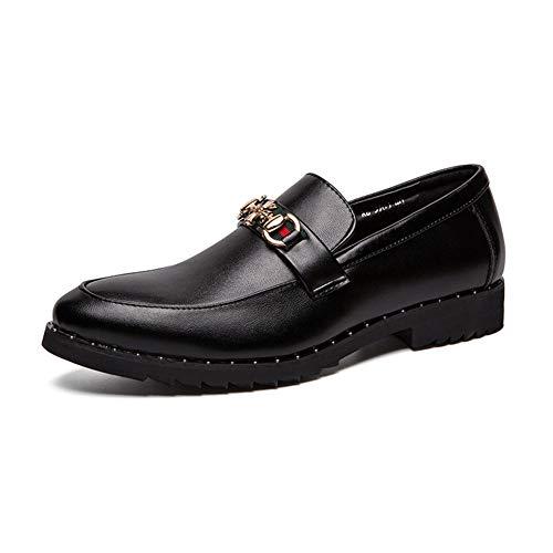 Mocasines Hombres Zapatos Vestir Estilo Italiano Moda