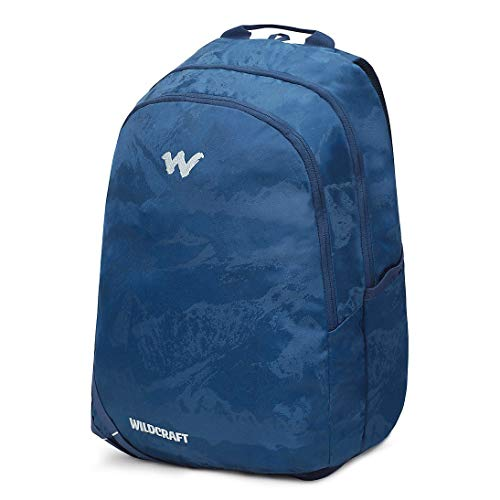 Best wildcraft backpack in India 2020 Wildcraft WC 1 Solid Backpack Navy (11908) Image 2