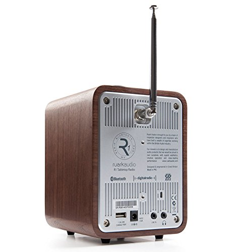 Ruark Audio R1 MkIII DAB DAB  FM Alarm Radio  Walnut