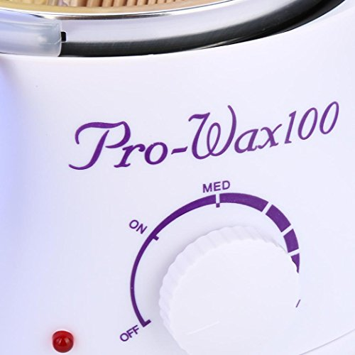 Fuibo Depilatory Set Haarentfernung Bohne Wiping Sticks Heißwachs Wärmer Heater Pot Mehrfarbig