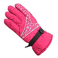 Yying Men Women Winter Gloves/Windproof Thermal Gloves Waterproof Ski Gloves for Skiing/Snowboarding/Cycling and Other Winter Sport Activities